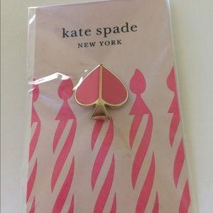 Kate Spade Happy BD Enamel Pin